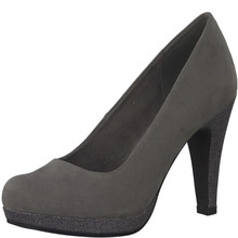 Marco Tozzi DK Grey Platform Court Shoes