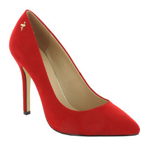 Pacomena Red High Heel Court Shoes