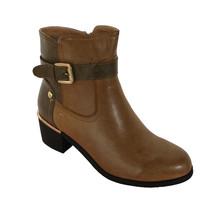 Zanni Caramel Ankle Boot