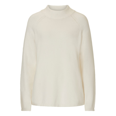 Betty Barclay Turtle Knit Pullover Knit In White