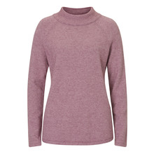 Betty Barclay Turtle Knit Pullover Knit In Lilac