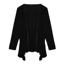 SophieB Black Open knit with a Strap Detail
