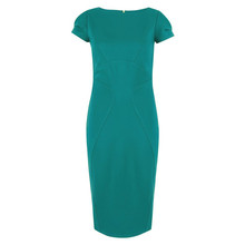 Closet Teal Bodycon Ponte Pencil Dress