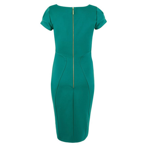 Closet Teal Bodycon Ponte Pencil Dress