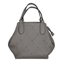 Mimosa Grey with Gold Sequence Pattern Handbag