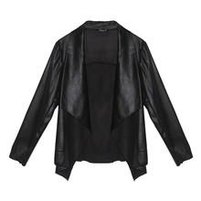 SophieB Black Soft Faux Short Jacket