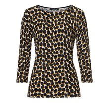 Betty Barclay Black & Gold Spotted Top