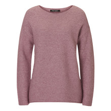 Betty Barclay Grey Ribbed Round Neck Knit