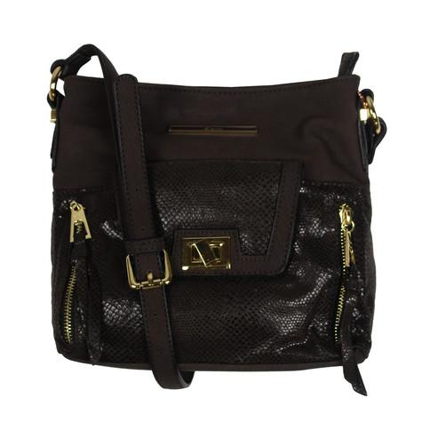 Gionni Brown Cross Body Handbag