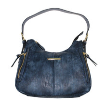 Gionni Navy Gold Trim Handbag