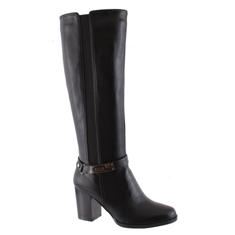 Susst Trudy Black Knee High Boot