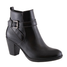 Susst Ellen Black Ankle Boot
