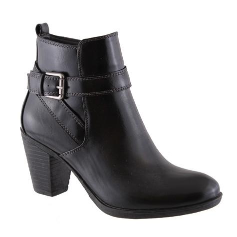 Susst Ellen Black Ankle Boot
