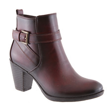 Susst Ellen Burgundy Ankle Boot