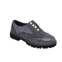 Tony & Co. GREY PEARL DETAIL BROGUE - SALE €20