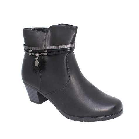 Tony & Co. BLACK FUR LINED ANKLE BOOT - SALE €30