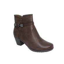 Tony & Co. BROWN FUR LINED ANKLE BOOT - SALE €30