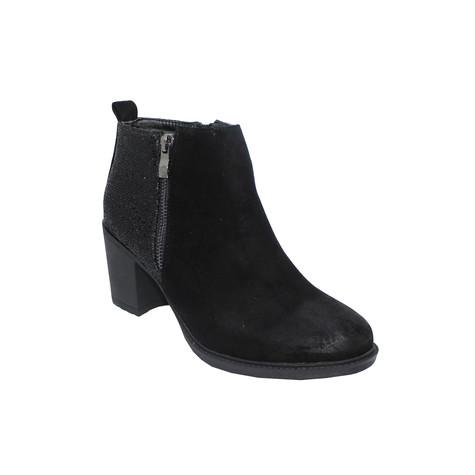 ebd2c68a1cea Tony   Co. BLACK BLOCK HEEL BOOT WITH SPARKLE HEEL - SALE €30 ...