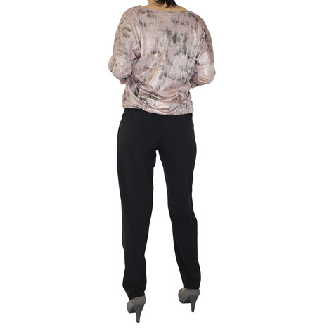 SophieB Black Wide Leg Trousers