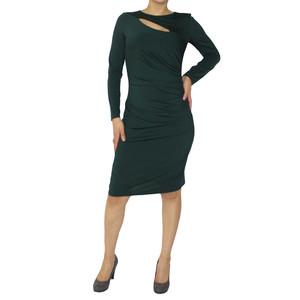 Zapara Emerald Long Sleeve Dress