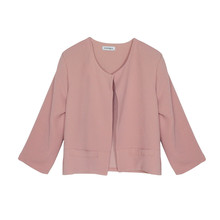 Zapara Old Rose Short Crop Jacket