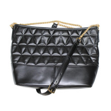 Mimosa Black Gold Chain Accessory Handbag