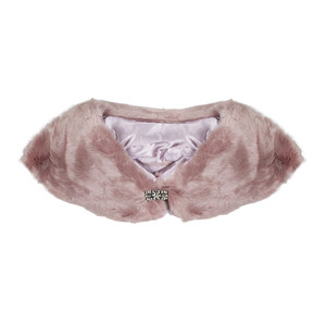 Best Angel Pink Faux Fur Stole