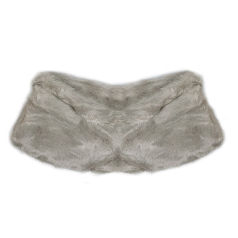 Best Angel Cream Faux Fur Stole