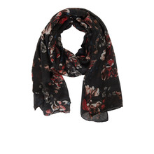 Betty Barclay Dark Pattern Print Scarf