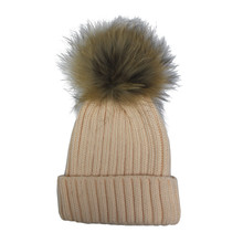 Victoria Preach Furry Bobble Hat
