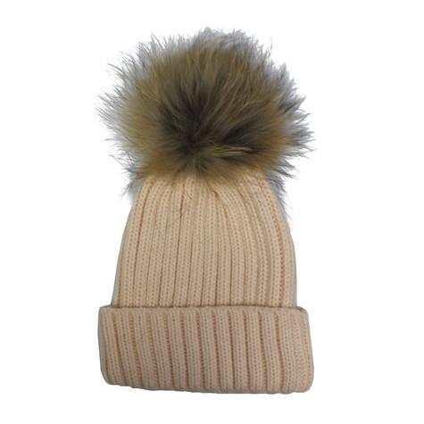 Victoria Preach Furry Bobble Hat