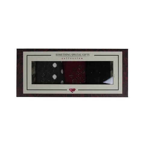 Something Special Pink, Black & Grey Sock Gift Set