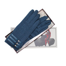Something Special Teal Luxury Classic Wool Gloves