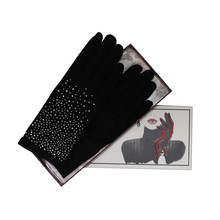 Something Special Luxury Black Classic Wool Gloves
