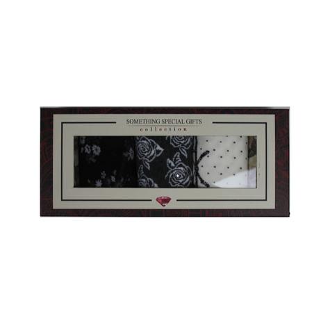 Something Special Black, Grey & White Sock Gift Set