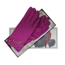 Something Special Luxury Pink Classic Wool Gloves