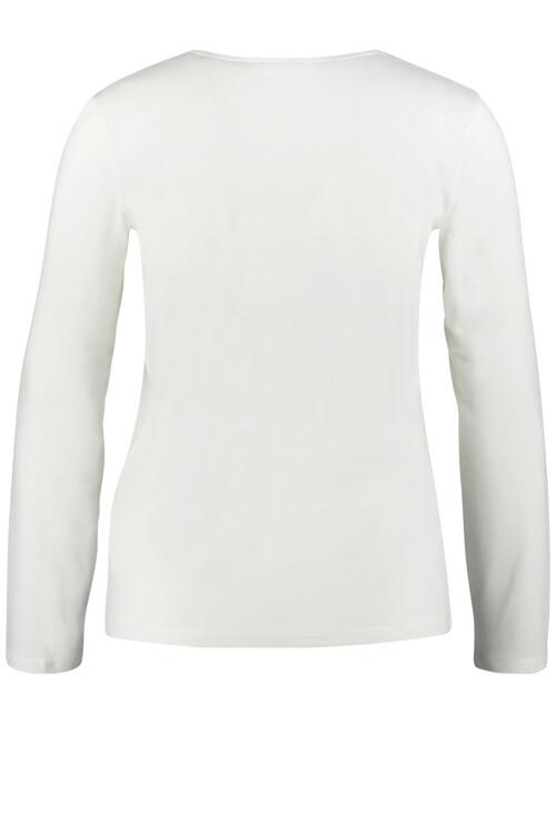Gerry Weber Long sleeve top with glitter edging