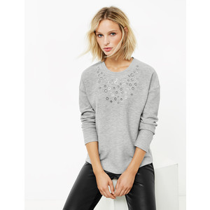 Gerry Weber Sweatshirt with glitter embellishment