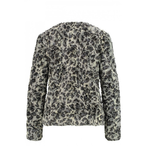 Gerry Weber Mystic Amber Faux Fur Patterned Coat