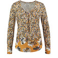 Gerry Weber Long sleeve top with a panel print