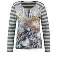 Gerry Weber Long sleeve top with a mixed pattern