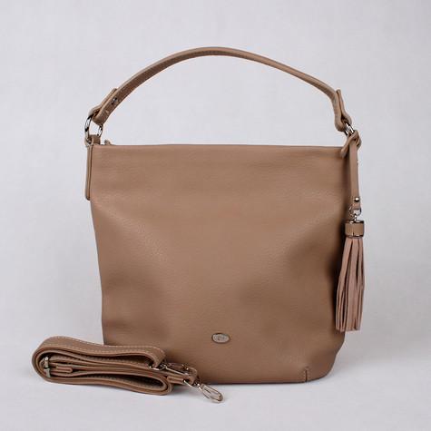 Dave Jones Cognac Slouch Accessory Hand Bag
