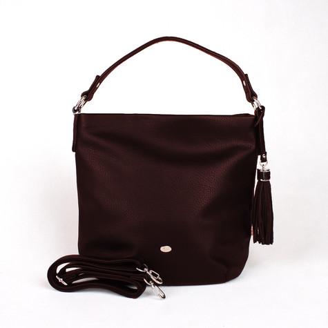 Dave Jones Bordeaux Slouch Accessory Hand Bag