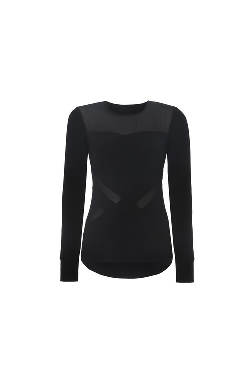 BodyByByram Black Harmonia Top