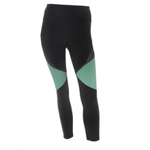BodyByByram Grey & Mint Clio ¾ Legging