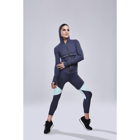 BodyByByram Grey & Mint Juno Jacket