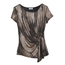 Zapara Bronze Glitzy Pulled Top