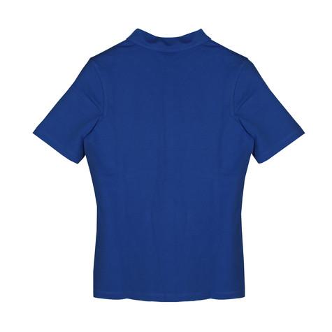 Basler Blue Polo Top