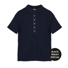 Basler Navy Polo Top - BLACK FRIDAY SPECIAL WAS €75.99 NOW €25