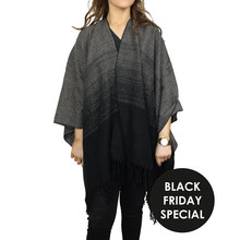 Olsen Grey & Black Shawl - BLACK FRIDAY SPECIAL €20